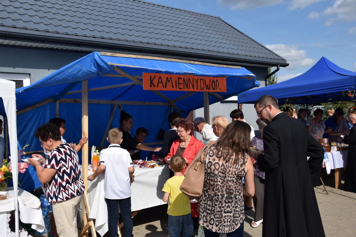 Diecezjalne uroczystości 300lecia koronacji Obrazu MB Częstochowskiej Topczewo 26.08.2017r (117)
