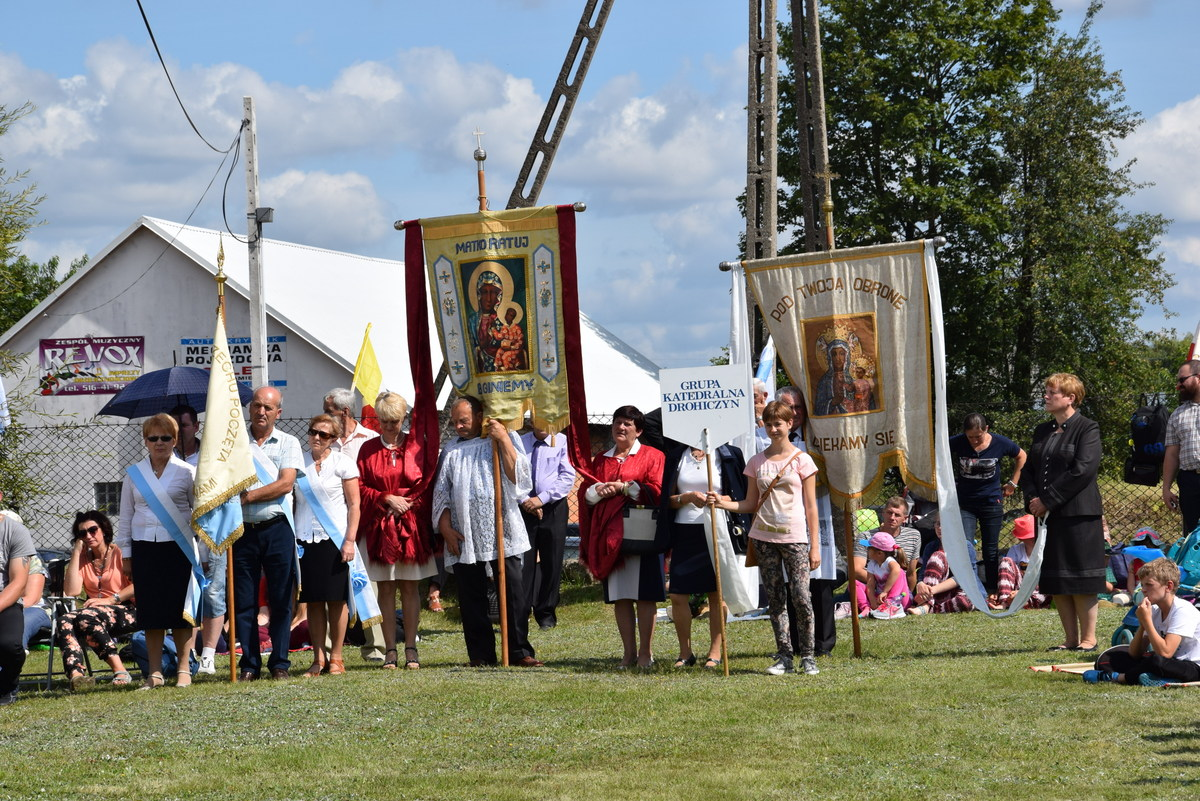 Diecezjalne uroczystości 300lecia koronacji Obrazu MB Częstochowskiej Topczewo 26.08.2017r (44)