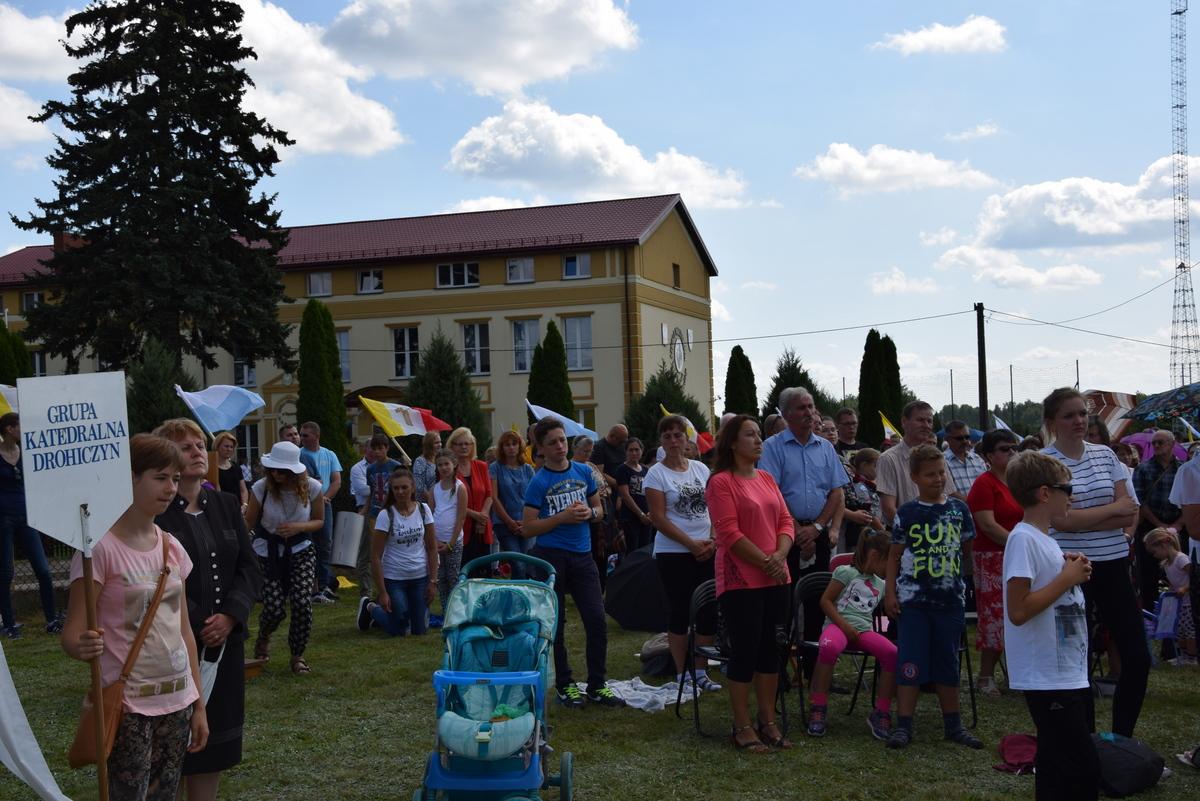 Diecezjalne uroczystości 300lecia koronacji Obrazu MB Częstochowskiej Topczewo 26.08.2017r (47)