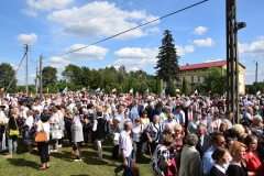 Diecezjalne uroczystości 300lecia koronacji Obrazu MB Częstochowskiej Topczewo 26.08.2017r (106)