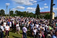 Diecezjalne uroczystości 300lecia koronacji Obrazu MB Częstochowskiej Topczewo 26.08.2017r (107)