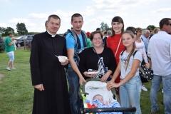 Diecezjalne uroczystości 300lecia koronacji Obrazu MB Częstochowskiej Topczewo 26.08.2017r (115)