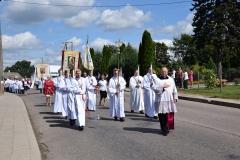 Diecezjalne uroczystości 300lecia koronacji Obrazu MB Częstochowskiej Topczewo 26.08.2017r (28)
