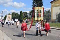 Diecezjalne uroczystości 300lecia koronacji Obrazu MB Częstochowskiej Topczewo 26.08.2017r (29)