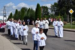Diecezjalne uroczystości 300lecia koronacji Obrazu MB Częstochowskiej Topczewo 26.08.2017r (30)