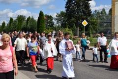 Diecezjalne uroczystości 300lecia koronacji Obrazu MB Częstochowskiej Topczewo 26.08.2017r (36)