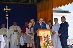 Diecezjalne uroczystości 300lecia koronacji Obrazu MB Częstochowskiej Topczewo 26.08.2017r (60)