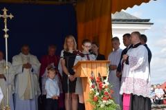 Diecezjalne uroczystości 300lecia koronacji Obrazu MB Częstochowskiej Topczewo 26.08.2017r (63)