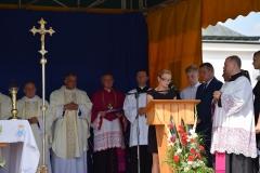 Diecezjalne uroczystości 300lecia koronacji Obrazu MB Częstochowskiej Topczewo 26.08.2017r (65)