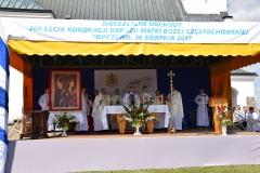 Diecezjalne uroczystości 300lecia koronacji Obrazu MB Częstochowskiej Topczewo 26.08.2017r (70)