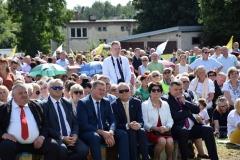 Diecezjalne uroczystości 300lecia koronacji Obrazu MB Częstochowskiej Topczewo 26.08.2017r (88)